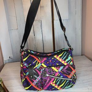 Lily Bloom Messenger/Crossbody Leopard Bag